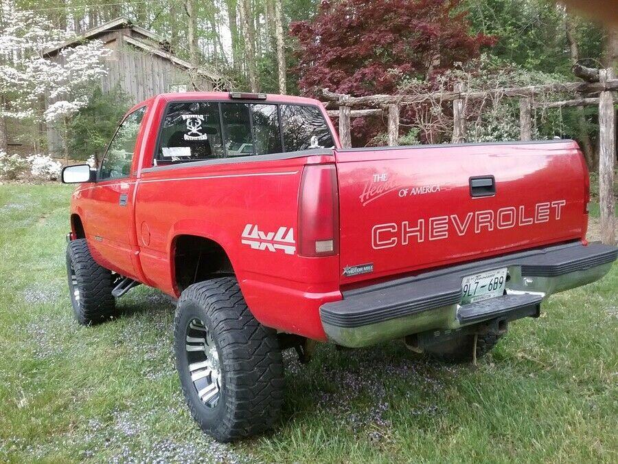 custom 1996 Chevrolet C/K Pickup 1500 pickup lifted
