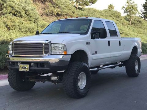 great shape 2001 Ford F 350 XLT Package lifted for sale