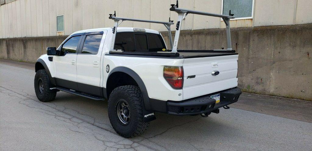 highly built 2013 Ford F 150 SVT Raptor lifted