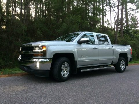low mileage 2016 Chevrolet Silverado 1500 LT lifted for sale