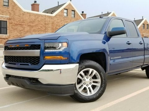 low miles 2016 Chevrolet Silverado 1500 LT lifted for sale
