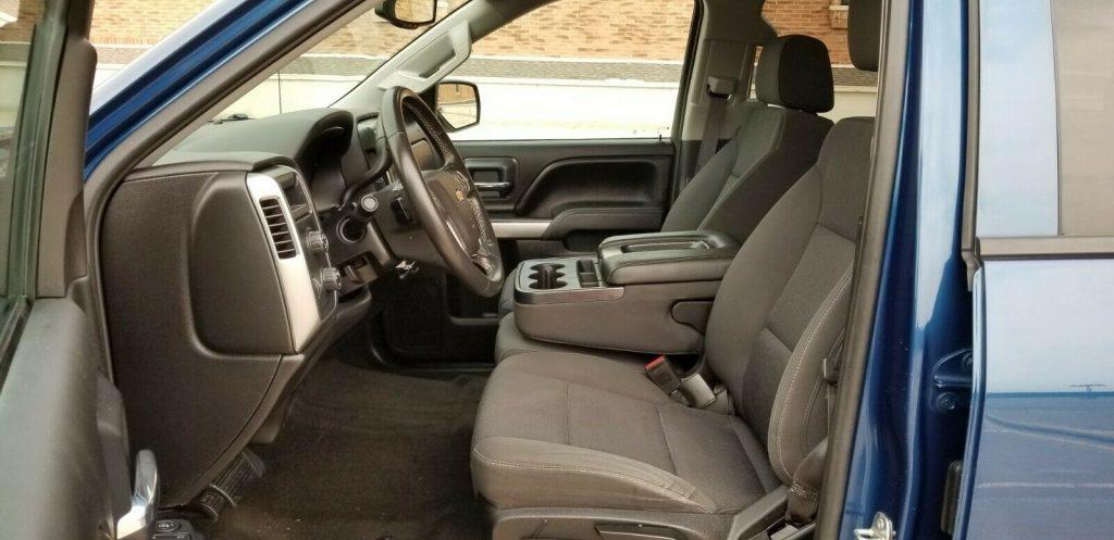low miles 2016 Chevrolet Silverado 1500 LT lifted