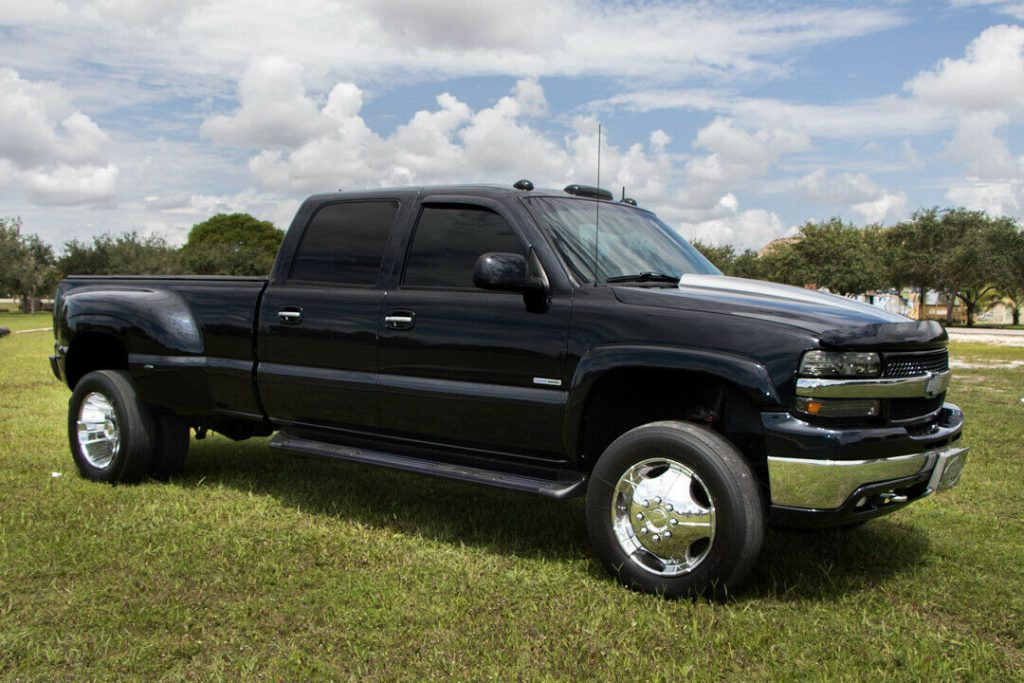 monster hauler 2001 Chevrolet Silverado 3500 HD Dually lifted