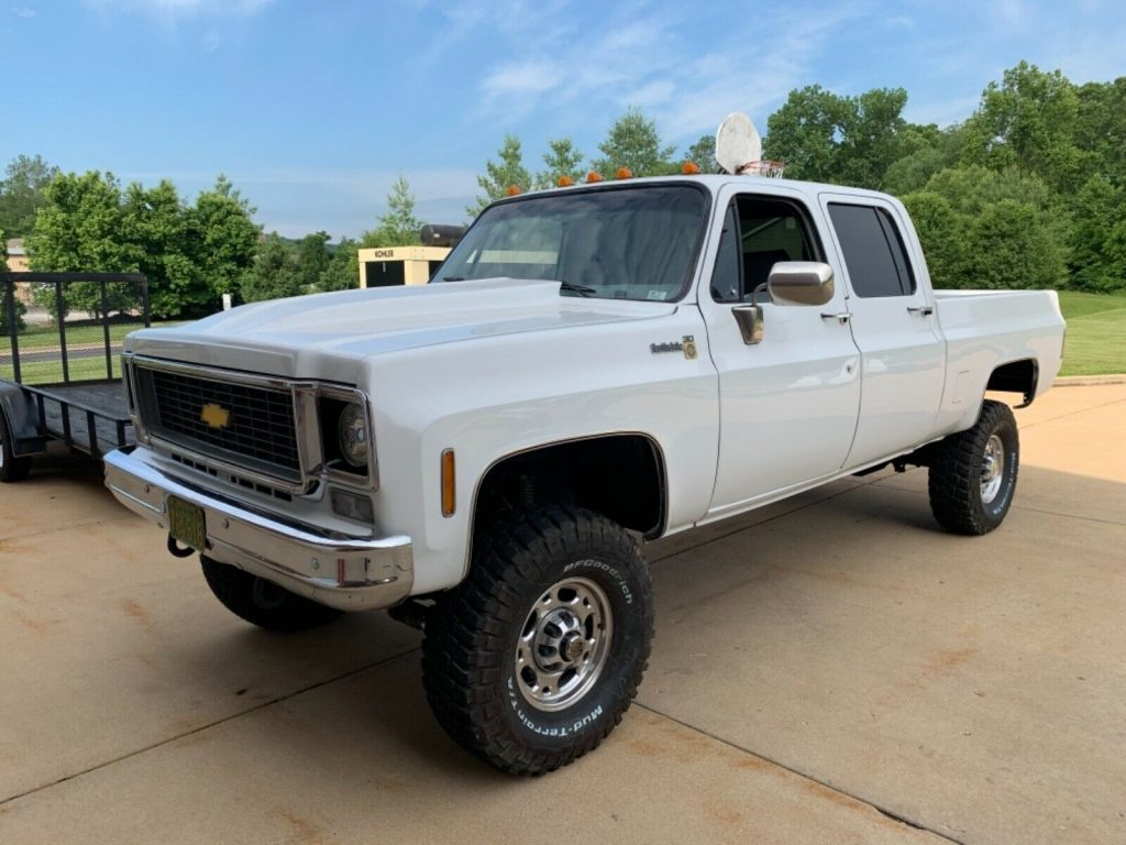 new parts 1976 Chevrolet 2500 Pickup lifted