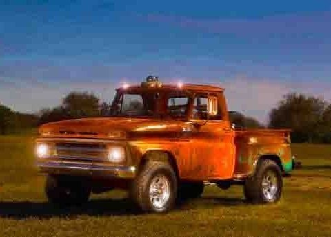 rat rod 1965 Chevrolet Stepside Pickup lifted for sale