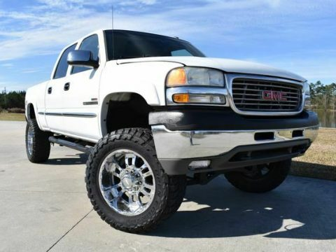 very clean 2002 GMC Sierra 2500 SLE lifted for sale