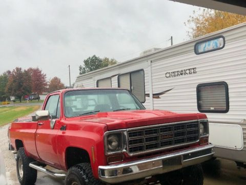 very nice 1978 GMC Sierra Pickup lifted for sale