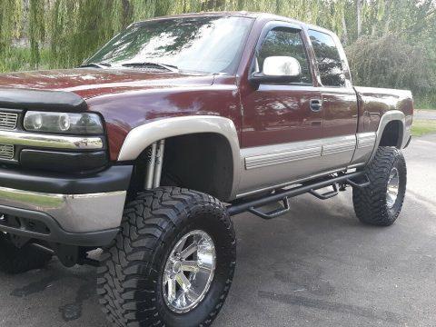 very nice 1999 Chevrolet Silverado 1500 lifted for sale