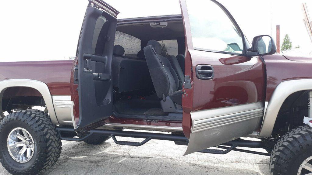 very nice 1999 Chevrolet Silverado 1500 lifted