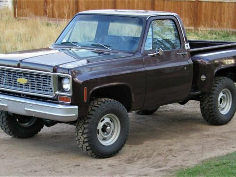 vintage 1974 Chevrolet C 10 pickup lifted for sale