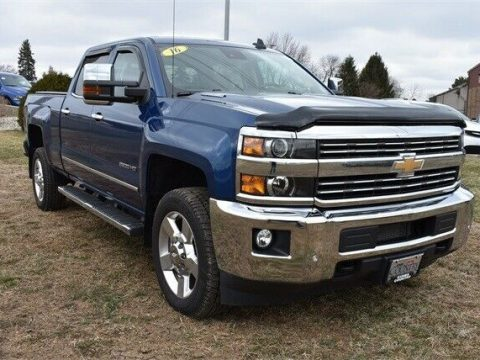well equipped 2016 Chevrolet Silverado 2500 LTZ lifted for sale