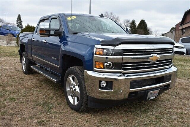 well equipped 2016 Chevrolet Silverado 2500 LTZ lifted