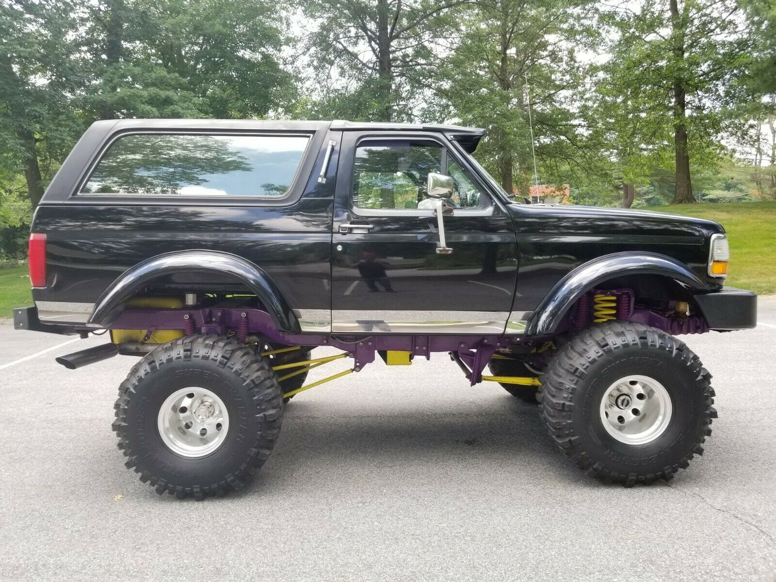 For Sale Custom 1993 Ford Bronco Xlt Lifted