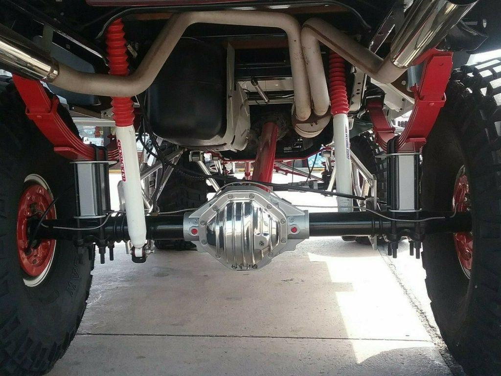 custom 1996 Dodge Ram 1500 step side lifted