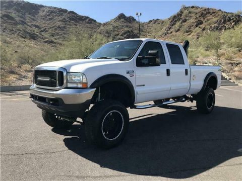 fully reconditioned 2001 Ford F350 Pickup XLT lifted for sale