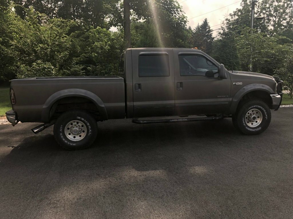 great running 2001 Ford F 250 lifted