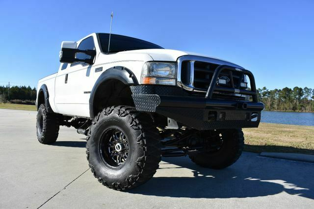 great shape 2001 Ford F 250 Lariat lifted