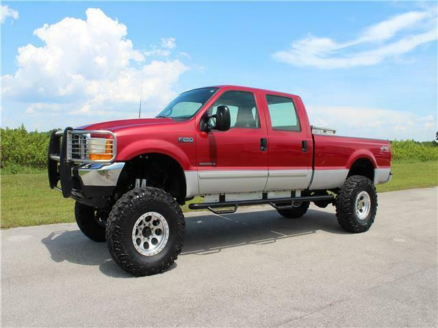 great shape 2001 Ford Super Duty F 250 XLT pickup lifted for sale