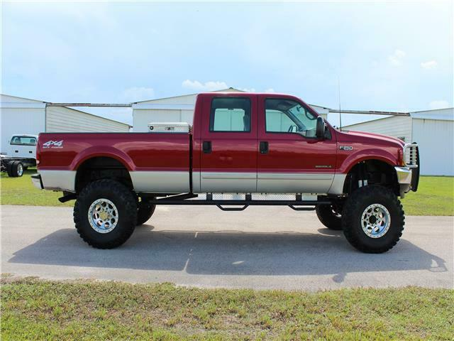 great shape 2001 Ford Super Duty F 250 XLT pickup lifted