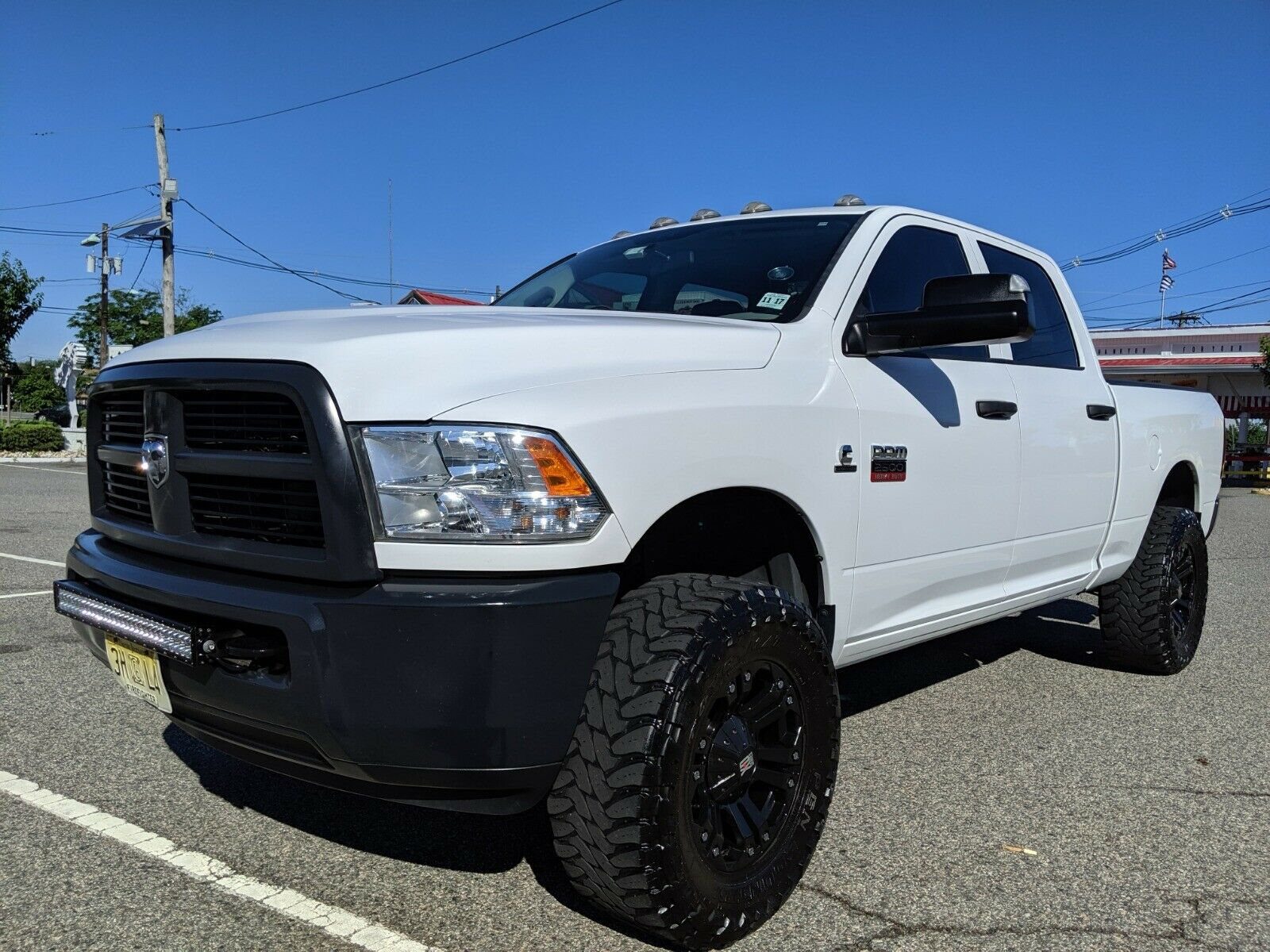low miles 2012 Dodge Ram 2500 ST lifted for sale