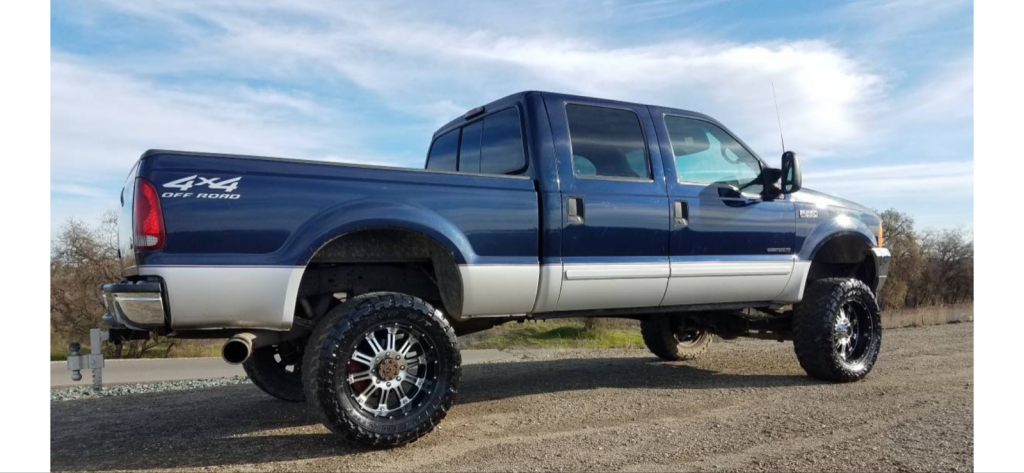 rust free 2001 Ford F 250 XLT lifted