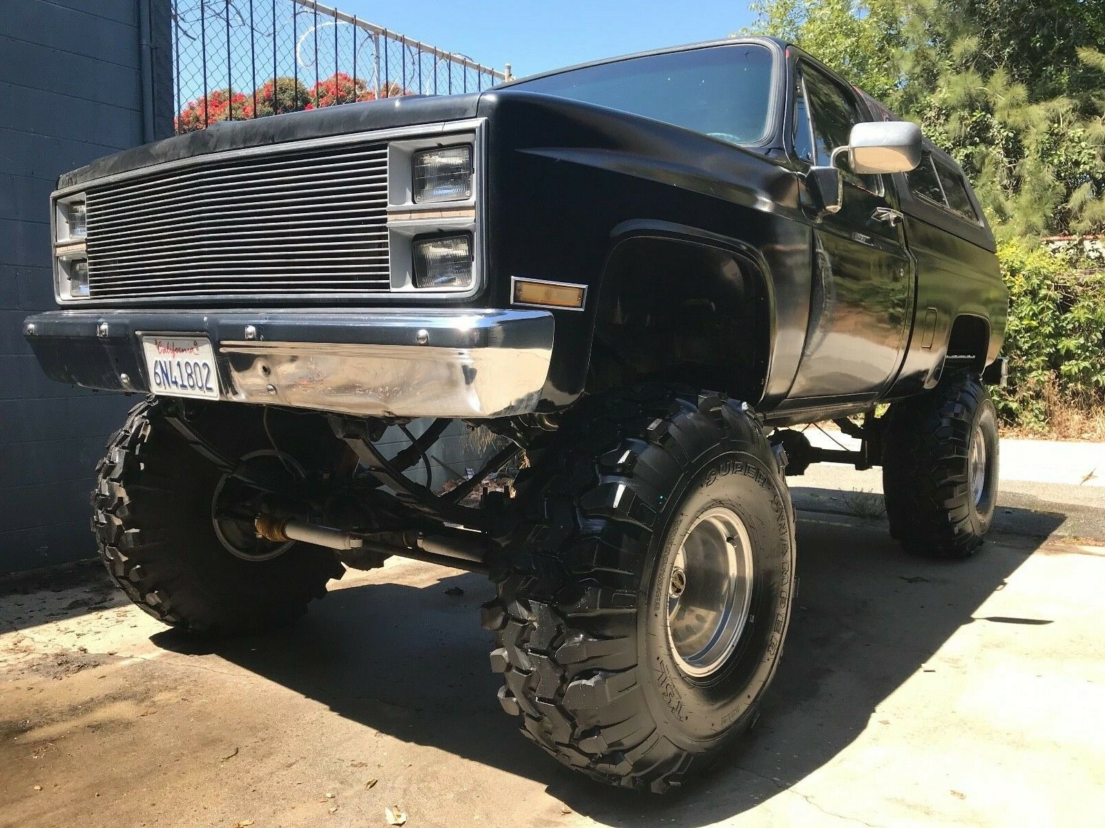 awesome 1984 Chevrolet C/K Pickup 1500 SILVERADO lifted for sale