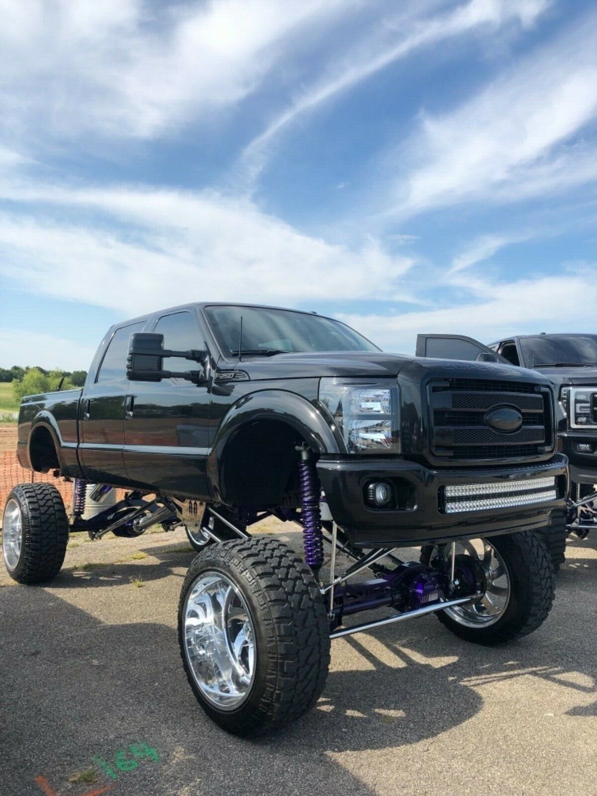 every option available 2014 Ford F 250 Platinum lifted for sale