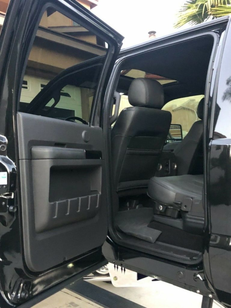 every option available 2014 Ford F 250 Platinum lifted