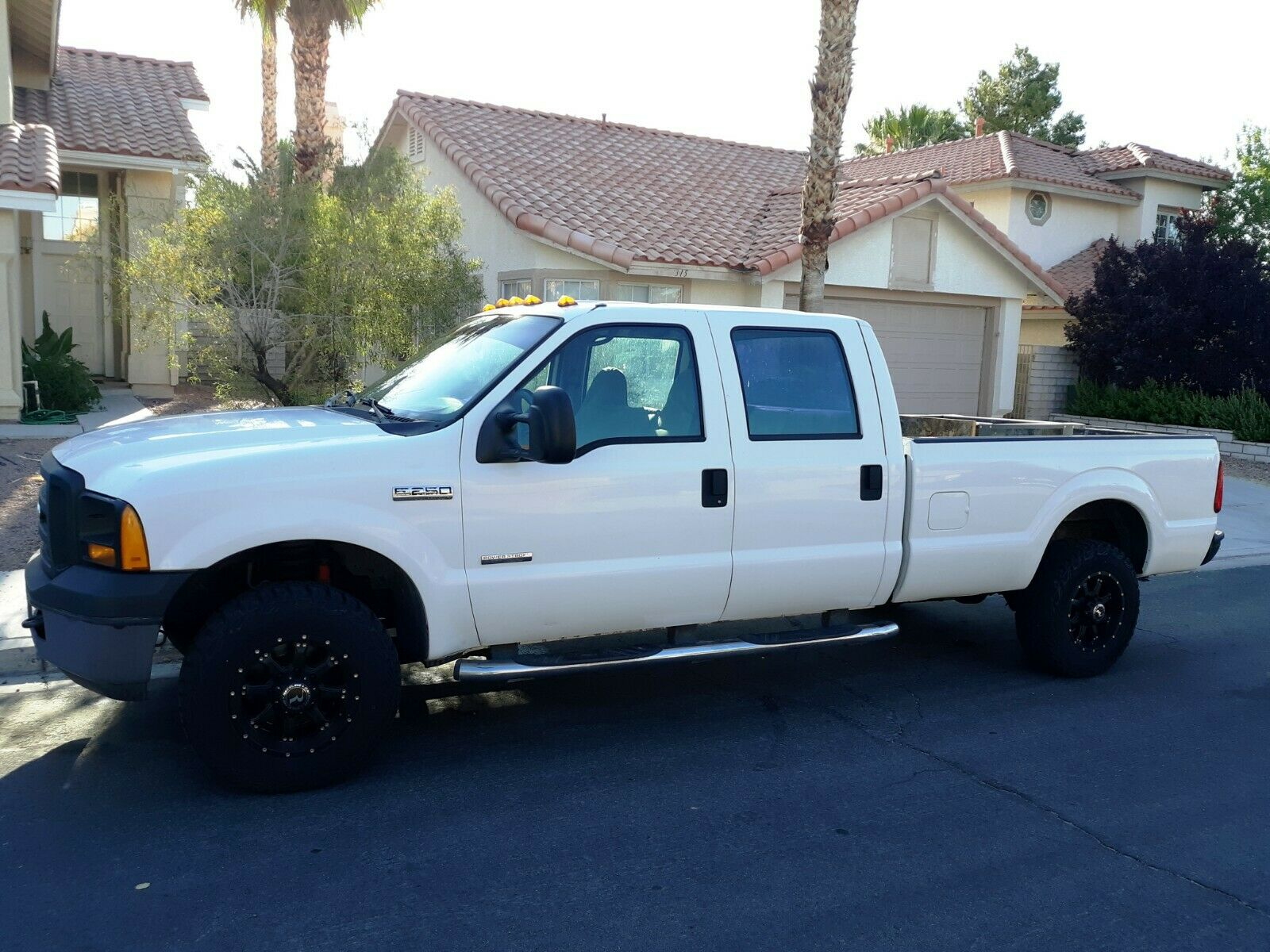 excellent running 2006 Ford F 250 XL lifted