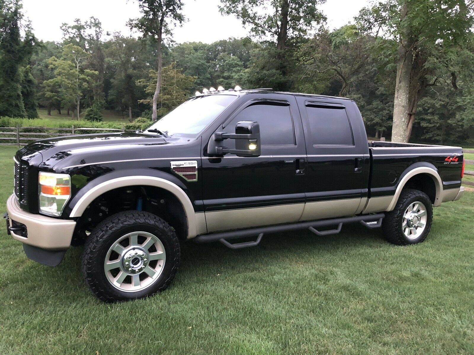 garage kept 2008 Ford F 350 King Ranch lifted for sale