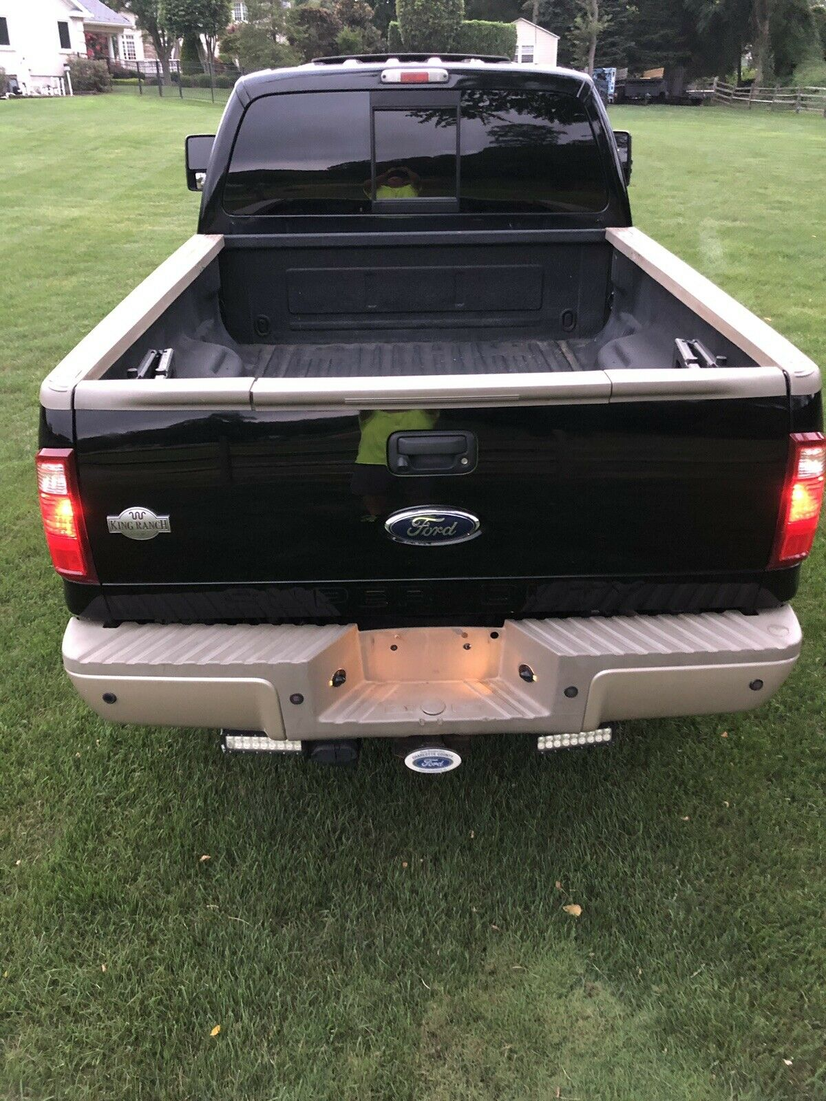 garage kept 2008 Ford F 350 King Ranch lifted