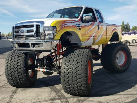 real monster 2008 Ford F 250 lifted for sale