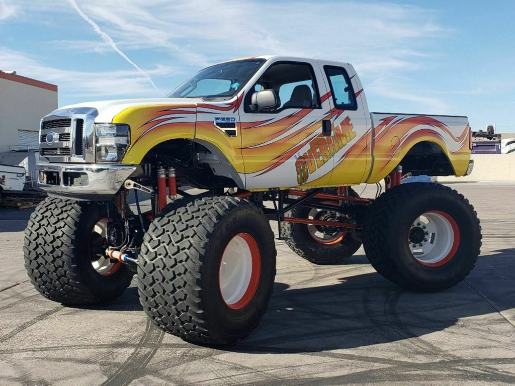 real monster 2008 Ford F 250 lifted