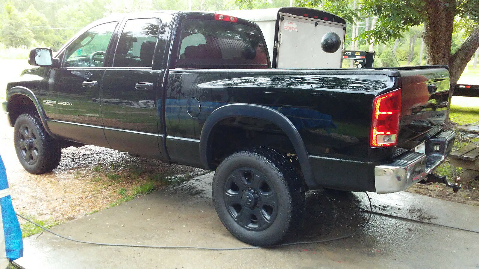 well maintained 2006 Dodge 2500 Power Wagon lifted