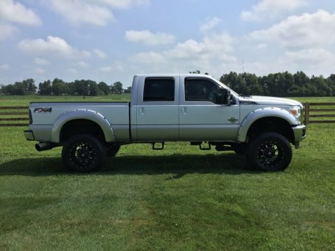 6 inch lift 2012 Ford F 250 Lariat Super Duty lifted for sale