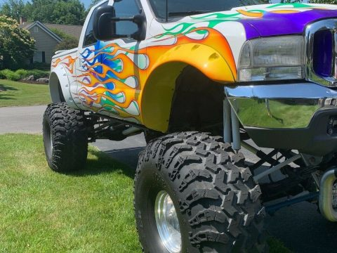 badass 1999 Ford F 250 lifted for sale