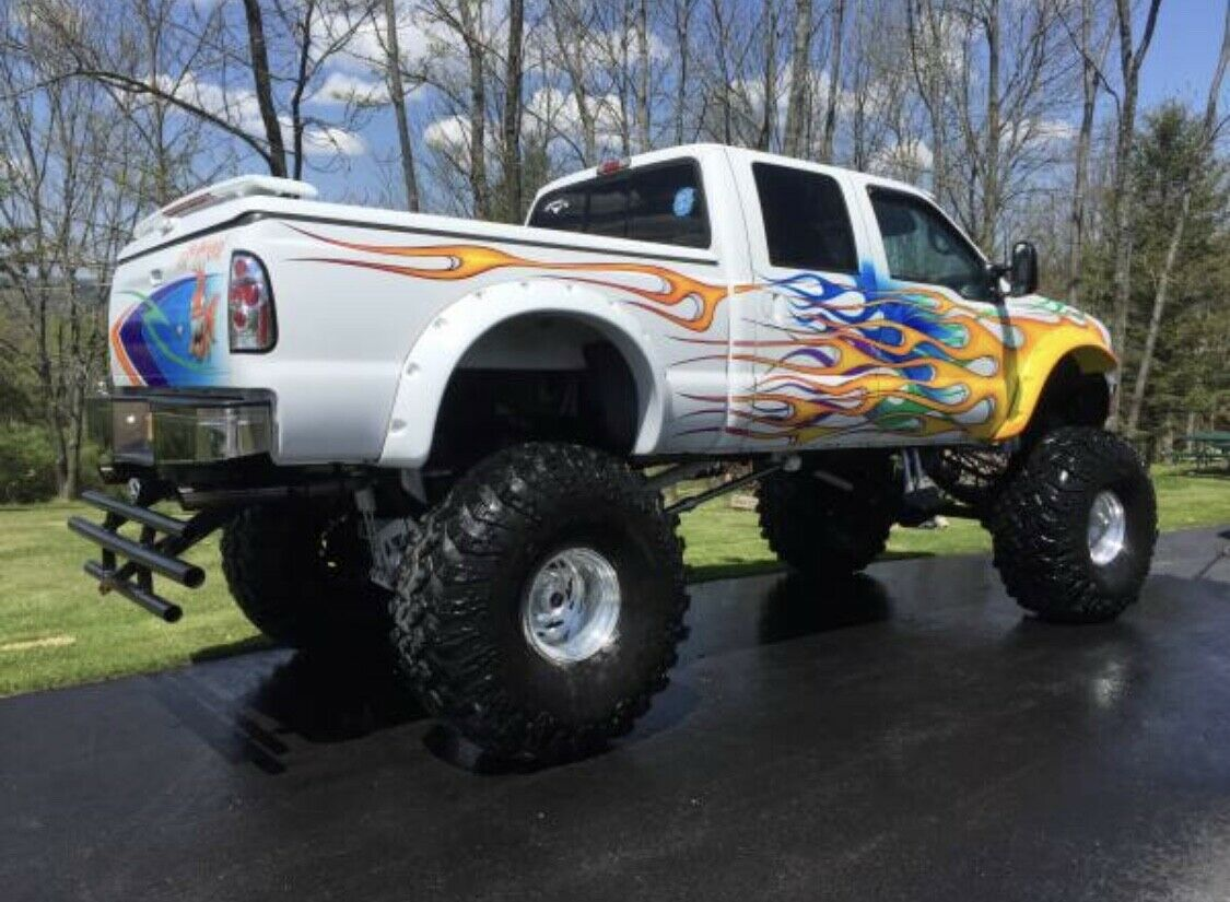 badass 1999 Ford F 250 lifted