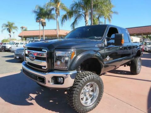 custom lifted 2012 Ford F-250 LARIAT lifted for sale