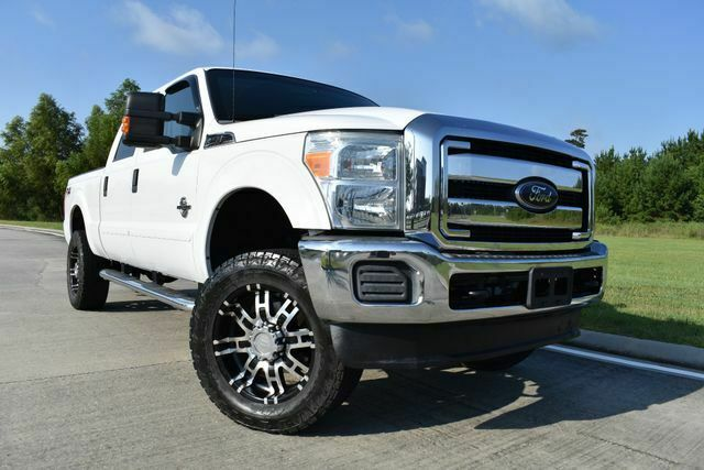 great shape 2012 Ford F 250 XLT lifted