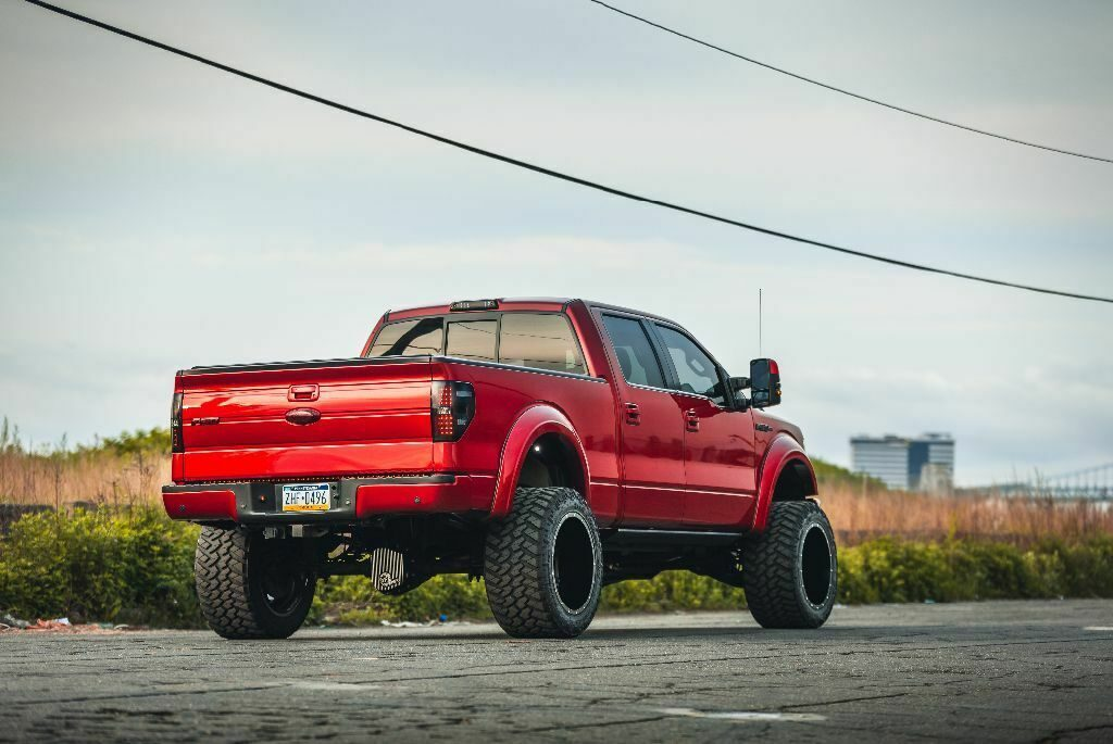 lots of mods 2013 Ford F 150 Fx4 lifted