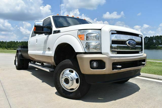 very clean 2012 Ford F 350 King Ranch lifted for sale