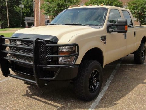 well equipped 2008 Ford F 250 FX4 XLT pickup lifted for sale
