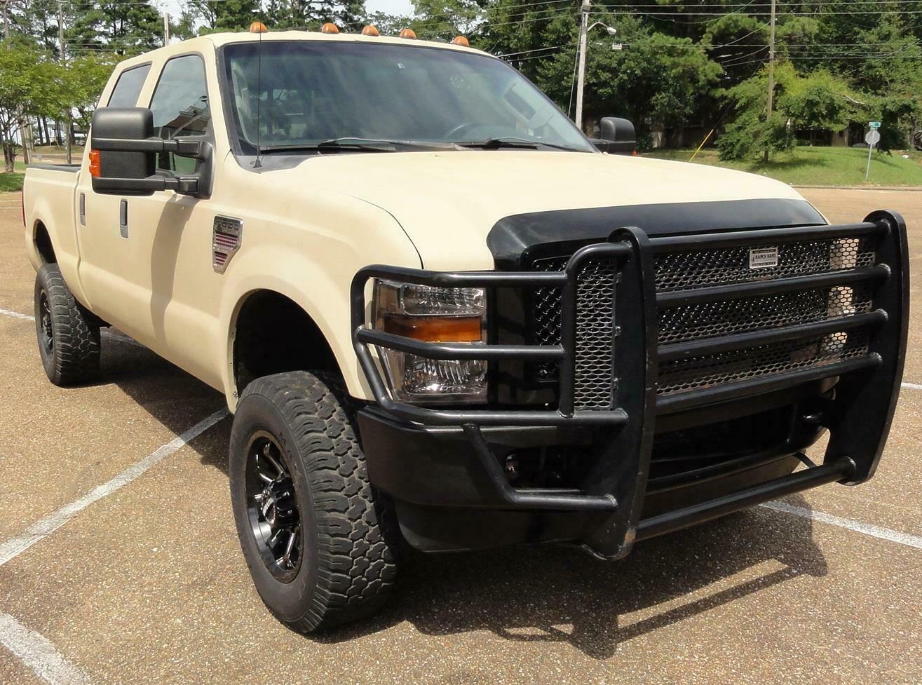well equipped 2008 Ford F 250 FX4 XLT pickup lifted