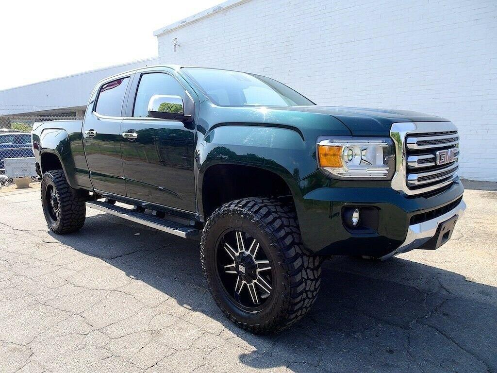 custom 2015 GMC Canyon SLT lifted for sale