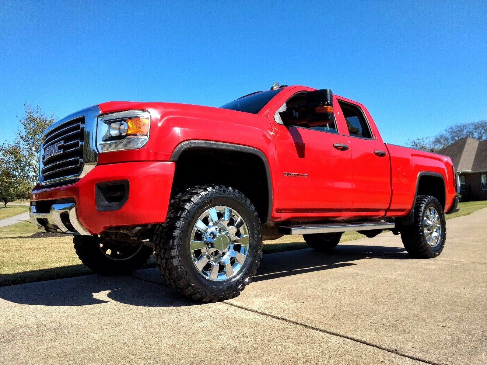 custom 2015 GMC Sierra 2500 lifted