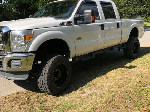 great running 2014 Ford F 250 Xlt lifted for sale