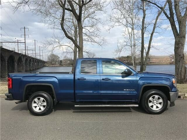 just serviced 2015 GMC Sierra 1500 SLE lifted