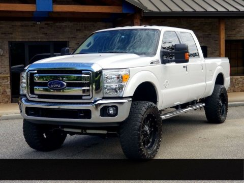 low miles 2015 Ford F 250 XLT lifted for sale