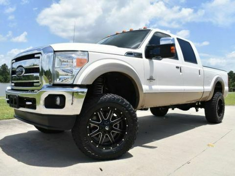 very clean 2014 Ford F 250 Lariat lifted for sale
