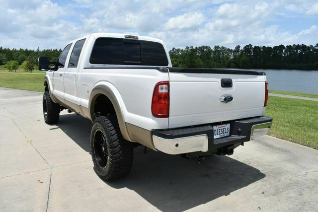very clean 2014 Ford F 250 Lariat lifted